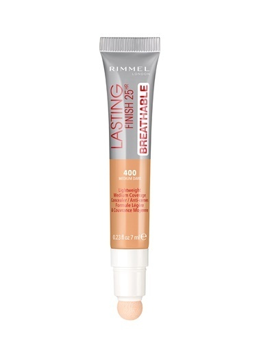 Rimmel London Lasting Finish 25Hr Breathable Concealer - 400 Medium Dark -Rimmel London